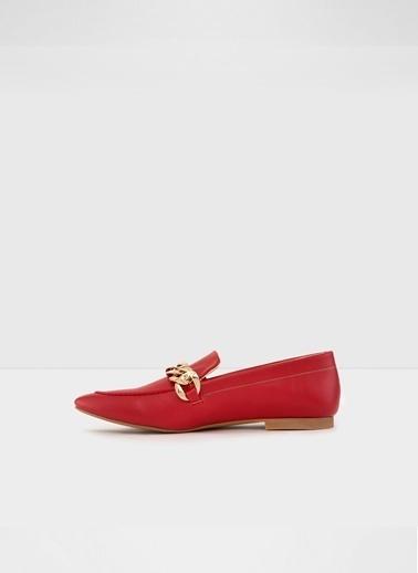 Aldo Aarberg-Tr - Kirmizi Kadin Oxford Ayakkabi Kırmızı